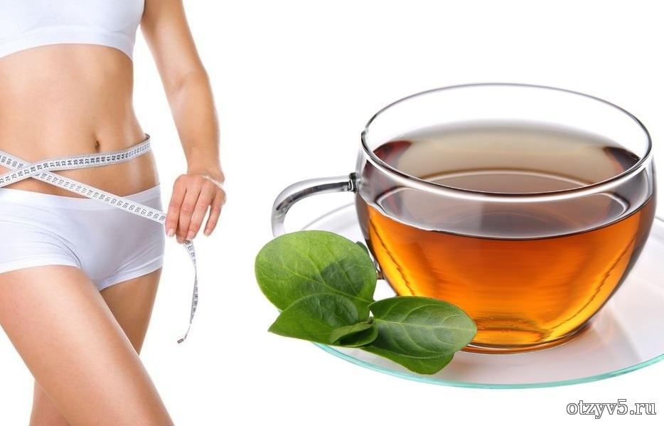 Зелёный чай и похудение